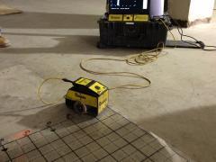 Ground Penetrating Radar (GPR) equipment.